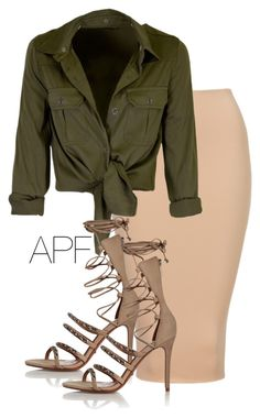 """""""Safari"""" by apf-style on Polyvore featuring Schutz"""