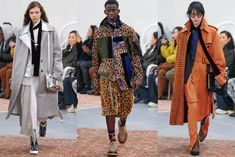 Sacai Pre-Fall 2019 Collection -#8211; Paris Kaia Gerber, Oversized Jacket, Chiffon Skirt, Old School, That Look, Street Wear, Kimono Top, Women Wear, Glamour