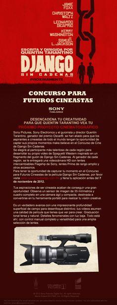 #DJANGOUNCHAINED: concurso para futuros cineastas - Chilanga Banda #Mexico