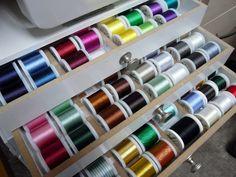 Thread Storage  Maderia Thread Chest