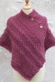 Resultado de imagem para poncho tricot