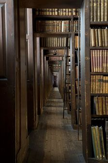 Libraries we love: Trinity College Library, Dublin, Ireland.