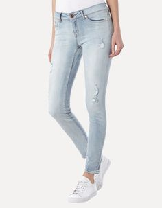 Destroyed Look Jeans