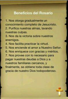 Beneficios de rezar el Rosario.