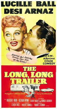 The Long Long Trailer 27x40 Movie Poster (1954)