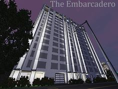 The Embarcadero penthouse apartment by orlov - Sims 3 Downloads CC Caboodle