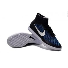 Buy Nike MagistaX Proximo Street TF Black White Black Turquoise Blue soccer  cleats from Nike at d23f0bc3c8079