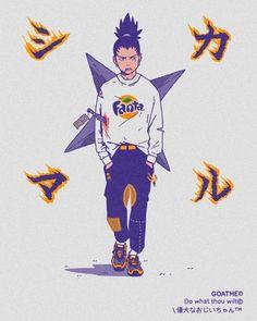 Goathe dresses the manga stars the site of Japan Anime Naruto, Art Naruto, Naruto Shippuden Anime, Manga Anime, Naruto Boys, Naruto Wallpaper, Wallpaper Naruto Shippuden, Shikamaru Wallpaper, Naruto Drawings