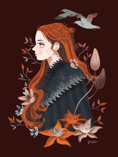 Sansa, GoT.