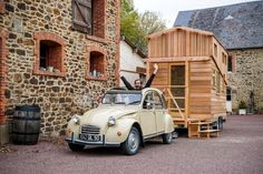 Bruno Thiéry, a local builder in Normandy, is spearheading the French tiny house movement.