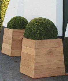 mahogany versaille planter box - Google Search