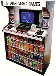 Atari POS (Point of Sale) display from the 80's