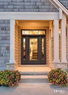 Charmant If You Think Doors Are All About Function And Less About Fashion, Think  Again. Front Doors Add A Refreshing Look To Your Homeu0027s Exterior, Impacting  Your ...