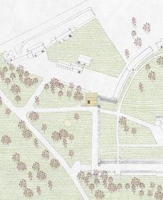 Plan, fill + texture. Hugh Strange architects