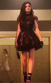 Aria at homecoming - pretty-little-liars(not the shoes)