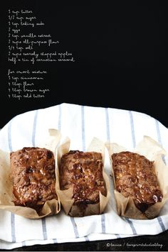 love print studio blog: Caramel apple bread...