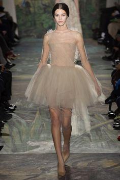Valentino Spring 2014 Couture Fashion Show - Pauline Hoarau (Elite)