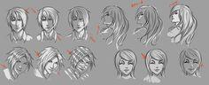Face lighting practise by moni158.deviantart.com on @deviantART