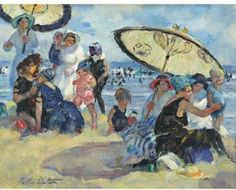 Martha Walter (1875–1976),  painting of Good Harbor Beach, Gloucester
