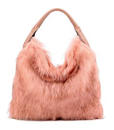 Pink Fur Strap Handbag Pink Blush Tote Bag. Get one of the hottest styles of the season! The Pink Fur Strap Handbag Pink Blush Tote Bag is a top 10 member favorite on Tradesy. Save on yours before they're sold out!