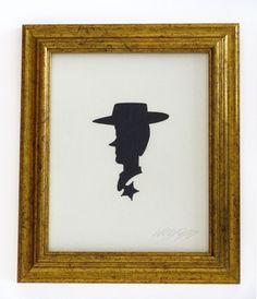 Silhouettes de figures populaires en papier silhouette personnage celebre papier 02 design bonus