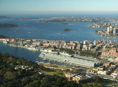 Sydney Harbour and the Pacific: From the Sydney Tower
