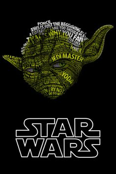 Star Wars Typography Portraits - Robot Mutant
