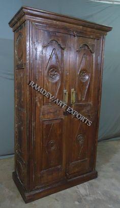 Wooden Old Door Almirah