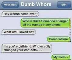 Saved as Dumb Whore