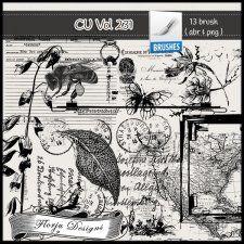CU vol 231 Brush / Stamp by Florju Designs #CUdigitals cudigitals.comcu commercialdigitalscrapscrapbookgraphics #digiscrap