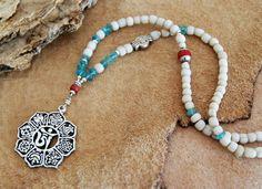 Ashtamangala+necklace++yoga+necklace++om+yoga+jewelry+by+OmSaha,+$50.00
