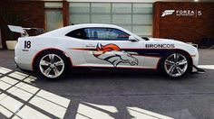 Denver Broncos and Camaro =2 of my favorite things.