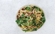 Spicy Cabbage Salad With Turkey and Peanuts - BA