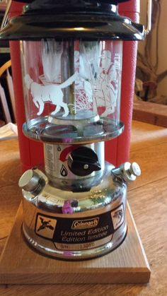 VERY RARE HTF ORIGINAL COLEMAN SPORTSMAN LIMITED EDITION LANTERN 288