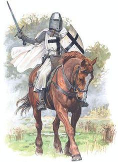 Medieval Knight, Medieval Armor, Medieval Fantasy, Knights Hospitaller, Knights Templar, Egyptian Anubis, Knight Tattoo, Crusader Knight, High Middle Ages