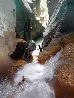 Saltos del Bierge, en la zona prepirenaica (Sierra de Guara) - Buscar con Google Imagines, Water, Google, Outdoor, Traveling, Spain, Travel, Water Water, Outdoors