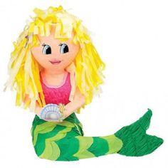 43cm Princess Fairytale MERMAID Girl Character BASH Pinata Party Game Decoration