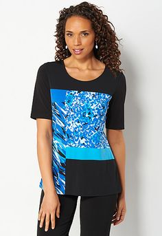 Easy Wear Colorbock Tunic