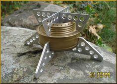Stabilizer & Pot Support on Trangia Burner