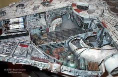 """""""The Force Awakens"""" movie's A Csillagok Háborúja Spacekrafts: cockpit of """"Millenium Falcon"""" & TIE Fighter comparison to Aircraft's cockpits: Tups, Bartini, Sperry Ballturret, ISS Nave Star Wars, Star Wars 7, Star Wars Ships, Lego Star Wars, Star Wars Spaceships, Sci Fi Spaceships, Millennium Falcon Model, Star Wars Vehicles, Sci Fi Models"""