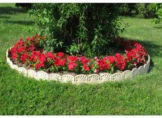 Bordure décorative de jardin ton pierre - Jardin et Saisons