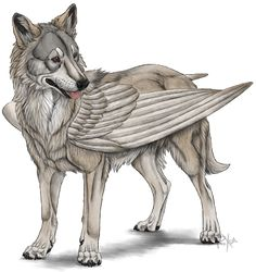 Simargl - winged-dog from East Slavic mythology Magical Creatures, Fantasy Creatures, August Themes, Like Animals, Manga, Mythology, Fairy Tales, Lion Sculpture, Statue