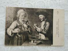 French Art, French Antiques, Gabriel, Cats, Painting, Ebay, French Artwork, Archangel Gabriel, Gatos