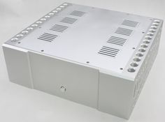 501.60$  Buy here - http://ali1yp.worldwells.pw/go.php?t=32733433759 - 2016 New aluminum amp chassis /home audio amplifier case (size 410*430*150MM) 501.60$