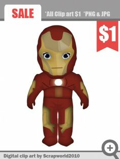 superhero png clipart iron man