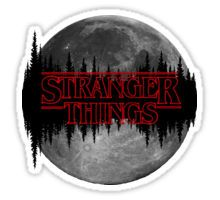 Stranger Things Pegatina