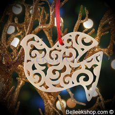 Belleek Christmas Dove - Christmas Tree Ornament