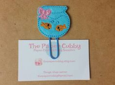 Felt Fishbowl Paperclip Bookmark by thepapercubby on Etsy #bookmark #plannersupplies #thepapercubby