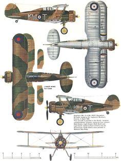 Gloster Gladiator 615 Sqn RAF France April 1940