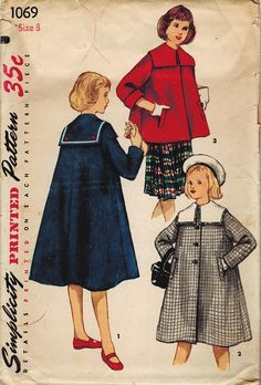 Simplicity 1069 from 1954